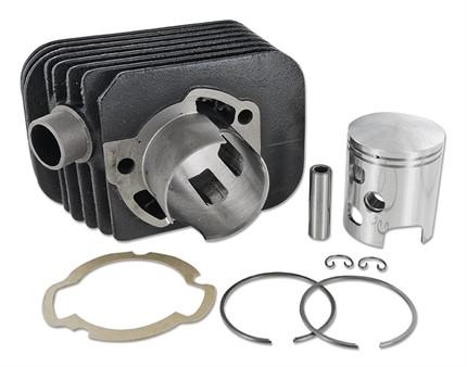 Zylinderkit DR 43mm Guss, Kolbenbolzen 10mm, Piaggio Ciao/SI