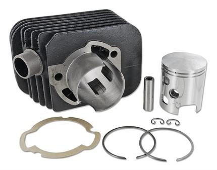 Zylinderkit DR 43mm Guss, Kolbenbolzen 12mm, Piaggio Ciao/SI
