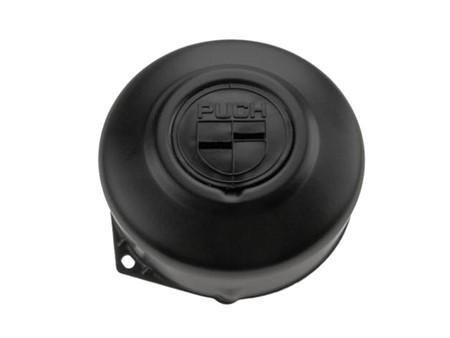 Lichtmaschinendeckel Puch Emblem, schwarz