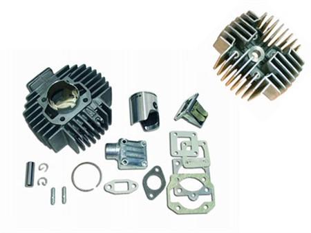 Zylinderkit Eurocilindro Membran 45mm Alu inkl. Zylinderkopf 45mm