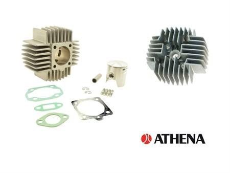 Zylinderkit Puch, Athena 45mm Alu, inkl. Zylinderkopf