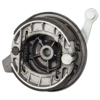 Bremsteller komplett Tomos hinten ( inkl. Bremsbelag )