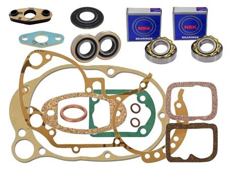 Revisionssatz komplett Sachs 502 Motor ( Schlitz Ausführung )