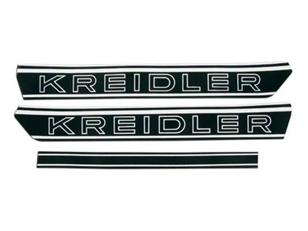 Aufkleber Kreidler Schwarzweiss 2 Stkück