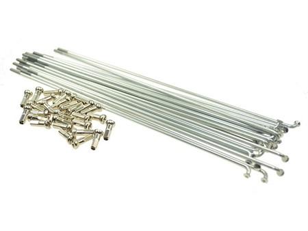 Speichen-Set INOX, 36stk. 191mm x  Ø 2,6mm, 90° inkl. Nippel