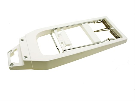 Gepäckträger Puch X30, weiss