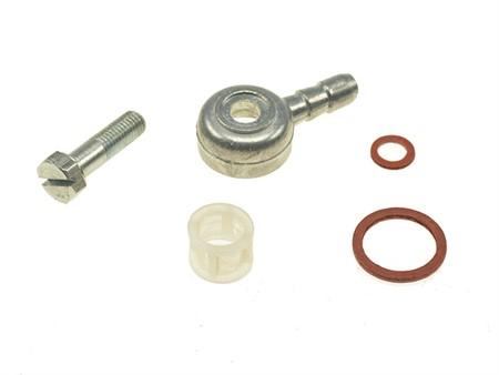Benzinanschluss SHA Vergaser 12/7-13/13 mm, 45 grad