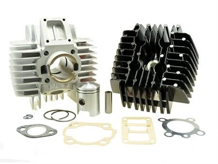 Set Kit AKOA Racing Alu 38mm, 50cc, Tomos inkl. Kopf