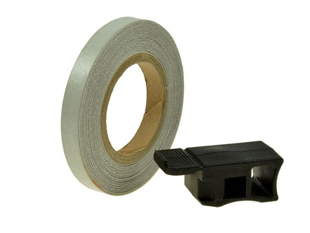 Felgenband Replay, 7mm breit, 6m inkl. Montagehilfe, silber