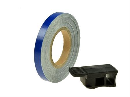 Felgenband Replay, 7mm breit, 6m inkl. Montagehilfe, blau