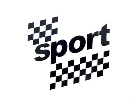 Kleber sport schwarz (Tankkleber) Puch X30 NS
