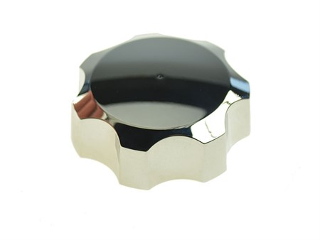 Tankdeckel M44 Sachs Alu Chrom