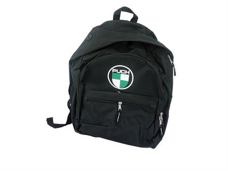 Rucksack Puch schwarz mit Logo