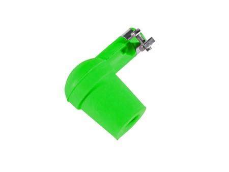 Kerzenstecker Silikon neon grün