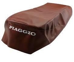 Sattelüberzug Piaggio ET 2/4 50ccm Braun