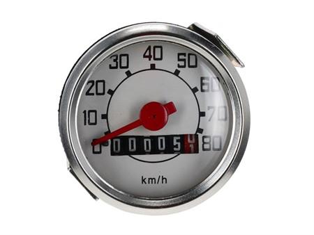 Tacho Piaggio Veglia (M11) 80 Km/h (Ø48mm)