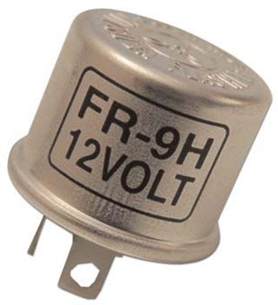 Blinkerrelais 12V / 4x10W / 2 Pins 90°