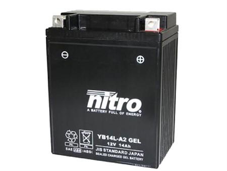 Batterie YB14L-A2 Nitro (Gel)