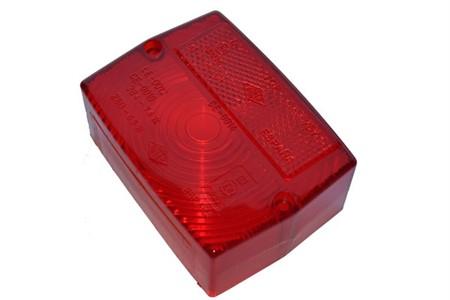 Rücklichtglas rot Original  Peugeot 103 PX/ 103SP