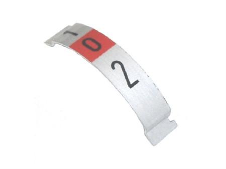Skalenschild zu Schaltdrehgriff MAGURA (2-Gang)