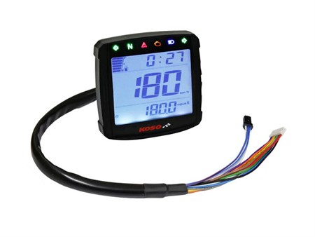 Tachometer Koso XR-01S LCD Digital, universal CE schwarz