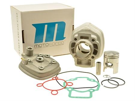 Zylinderkit Motoforce Aluminium 50cc, Piaggio LC (5-eckig, ab Bj. 07/1997)
