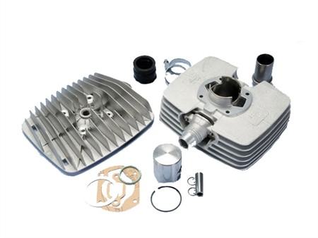 Zylinderkit Polini S6000 80cc 48mm (Hub 44mm) alu , Sachs 5 Gang