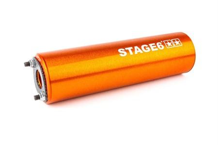 Auspuffanlage Stage6 Streetrace high mount CNC orange Beta RR