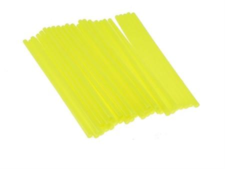 Speichen Cover, kurz 19cm, Neon Gelb