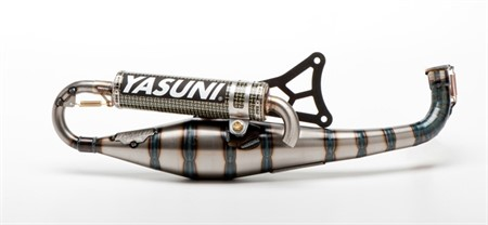 Auspuff Yasuni Carrera 30 Kevlar, Minarelli horizontal