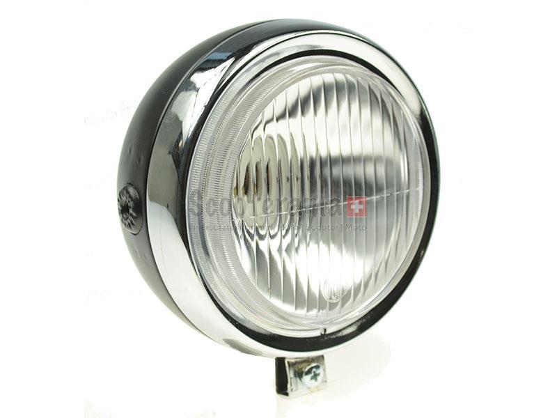 lampe rund chrom schwarz ohne schalter