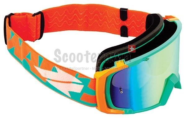 SWAPS Cross Brille orange / blau
