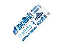 Aufkleber-Set Polini Racing Team 30x17cm