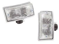 Blinklichtset vorne links + rechts Vespa PX 125-200 E/T5 weiss