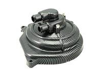 Wasserpumpendeckel Alu, Minarelli LC- carbon