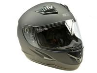Helm ADX XR3 schwarz matt, Doppelvisier (Grösse XL)
