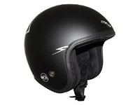Helm Jet ADX LEGEND MAGIC RIDER, schwarz matt (Grösse S)