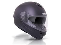 Helm GPA X13 DS schwarz matt Sinkl. integriertem Sonnenvisier  (Grösse XL)