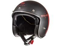 Helm JET MT Le Mans rot/schwarz Matt (Grösse S)