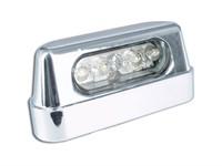 Nummernschildbeleuchtung LED chrom CE