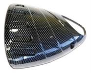 Auspuffblende vorne Yamaha T-Max 500 < 2007 carbon