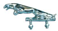 Zierfigur Jaguar chrom (Plastik)