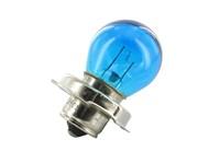 Birne 12V/15W, Sockel (P26S) , blau mit Kragen