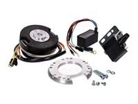 Innenrotorzündung MVT Premium mit 12V Licht und Drehzahlbegrenzer, Puch Maxi - X30 / Sachs