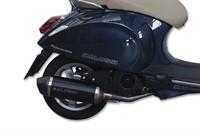 Auspuff Malossi RX Black Edition, Vespa Primavera 125 i.e. 3V (M81)