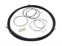 Kabelset Mofa schwarz (universal)