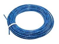 Kabelhülle (Rolle à 25m), Blau lazer