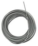 Kabelhülle Ø 2x5mm grau vintage/Vespa (50 Meter)