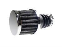 Powerfilter chrom, für Bing 12-15mm Vergaser