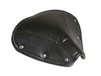 Sattelüberzug Leder schwarz zu Solex 1700/2200